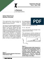 Magnetoresistive Sensors