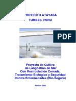 Proyecto de Langostino Blanco - UNP Tumbes