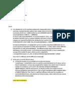 Assignement Derivatives
