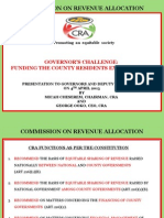 Cra Governors Challenge Funding the County Residents Expectations