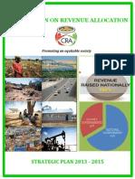 CRA Strategic Plan 2013 2015
