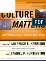 1.Huntington, Samuel P Culture Matters How Values Shape Human Progress