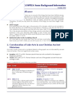 Why Should I Trust The Gospels? (Handout from talk at ASLP, Oct 2013)