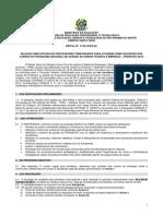 Edital 17-2013-DG-SC PRONATEC Docentes Externos