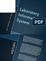Laboratory Information System (LIS)