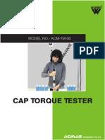 Cap Torque Tester