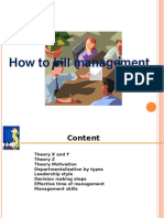 How to Kill Managemet