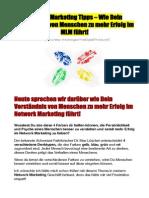 Network Marketing Tipps – Wie Dein Verständnis von Menschen zu mehr Erfolg im MLM führt