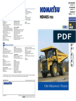 HD465 - Rigid Dump Truck