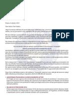 Ultima lettera di legislatura Mario Magnani