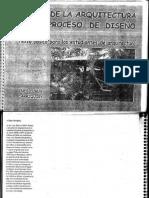 Acerca de la Arquitectura y el proceso de diseño - Inés Claux Carriquiry (1999)