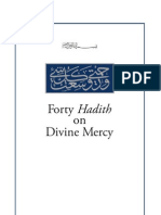 40 Hadith Divine Mercy