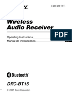 Sony Bluetooth DRCBT15