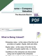 Crash Course Company Valuation