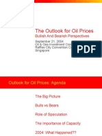 Oil Prices Outlook 2004