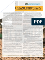 0093 Call for Grant Proposals ASM Pilot Projects