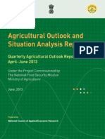 Agiculture Report Apr June 2013