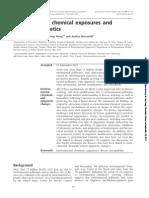 Enviromental Chemical Exposure and Human Epigenetics
