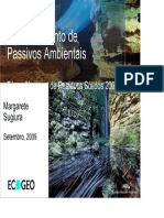Gerenciamento de Passivos Ambientais FRS 23-09 Margarete Setsuko Sugiura