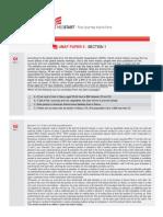 MedStart Paper 5 - Section 1
