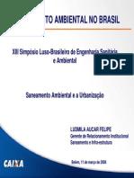 Saneamento Ambiental e a Urbanização Ludimila Felipe 4.pdf