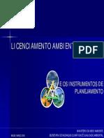LICENCIAMENTO AMBIENTAL e os instrumentos de planejamento PARA ABES 11-3-2008.pdf
