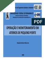 OPERAÇÃO E MONITORAMENTO EM ATERROS DE PEQUENO PORTE FRS_23-09_Eduardo_Antonio_Maia.pdf