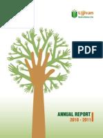 Ujjivan Annual and Social Report 2010 - 11