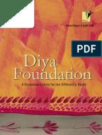 Annual Report Diya Foundation
