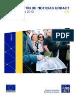 Formación y herramientas para la implicación de agentes locales | Boletín URBACT Octubre 2013