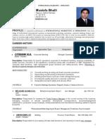 Resume Operations Marketing 2009