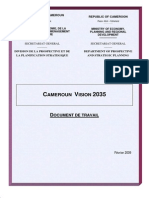 Vision Cameroun 2035