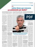 Entrevista a Juan Manuel Escudero. Periodico Escuela . 21.05.09. (Estado Actual de Nuestro Sistema Escolar)