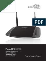 Power AP N Quick Start Guide