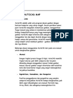 Mengenal Autocad Map