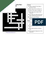 Futility Crossword