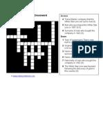 White Star Crossword