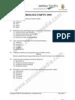 biologi UMPTN 1999