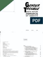WD 227 - Butler - Gender Trouble