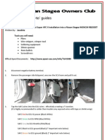 how to guide_apexi super afc ii installation into a nissan stagea wgnc34 rb25det