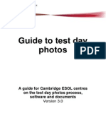240140 Guide to Test Day Photos