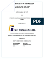IT Project Report Sample Template
