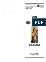 20120921 155308amar Verbo Intransitivo Mrio de Andrade