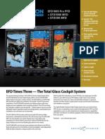 Efd1000 Pfd Efd1000 Mfd and Efd500 Mfd