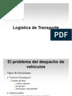 Clase  Logística del transporte [Modo de compatibilidad]