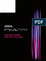 DIA Demi-Permanent Color Chart - 102 Shades