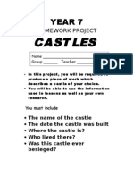 4. YEAR 7 Castles Research