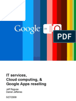 Growing a SaaS-based services business reselling Google Apps