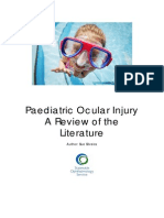 Paediatric Ocular Injury
