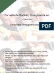 Escuela de Padres, Una puesta en com�n.pptx
